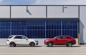 Mercedes-AMG GLE 63 S, W 166,  face lift 2015; Mercedes-Benz GLE Coupé (2014)