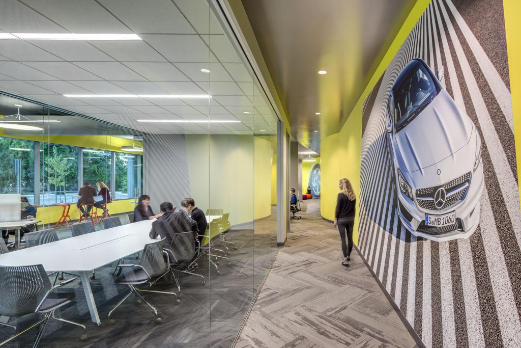 Mercedes benz dalla silicon valley al fascino delle for Mercedes benz research development north america