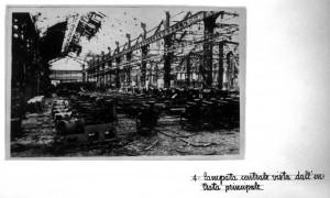 Fabbrica danni guerra e ricostruzion