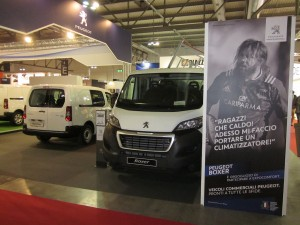 Peugeot Stand MCE