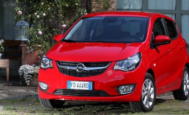 Opel karl arriva la versione a gpl abmnews - Consumo gpl casa ...