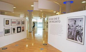 Settimo Torinese (To) 17-01-2017 Foto Daniele Solavaggione  INAUFUIRAZIONE MOSTRA SULLA PIRELLI ALLA BIBLIOTECA CIVICA ARCHIMEDE
