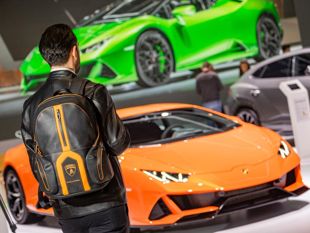 8b5ef631aa Brand partnerships Automobili Lamborghini al Salone dell'automobile di  Ginevra 2019